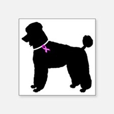 "Poodle.eps Square Sticker 3"" x 3"""