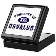 Property of osvaldo Keepsake Box