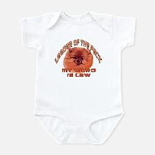 pomeranian law Infant Bodysuit
