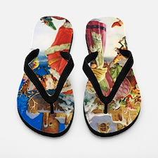 SANTA CLAUS 30_10x14V2 Flip Flops