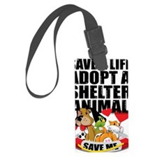Rescued-Love-2010 Luggage Tag