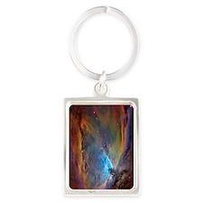 443_iphone_case nebula Portrait Keychain