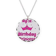 birthdayprincess_1st_RYLEE Necklace Circle Charm