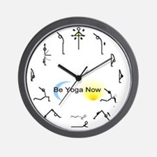 Sun Salute Sport Wall Clock