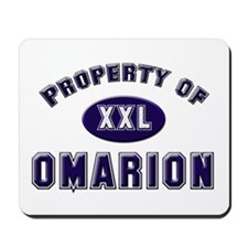 Property of omarion Mousepad