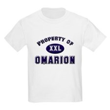 Property of omarion Kids T-Shirt