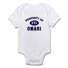 Property of omari Infant Bodysuit
