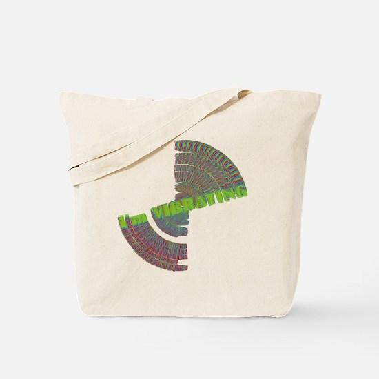 vibrating dark Tote Bag
