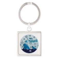 MR NORWHAL ORIGINAL Square Keychain