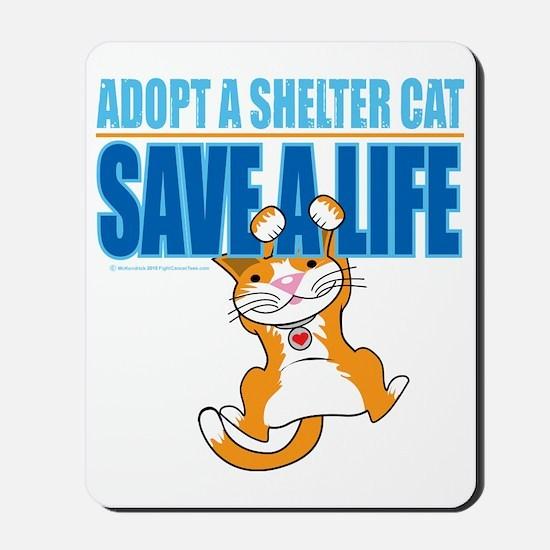 Save-A-Life-Cat-2010 Mousepad