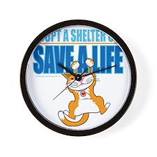 Save-A-Life-Cat-2010 Wall Clock