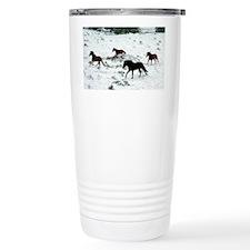 snowrun_card Travel Coffee Mug