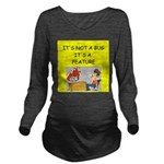 software engineer gifts Long Sleeve Maternity T-Sh