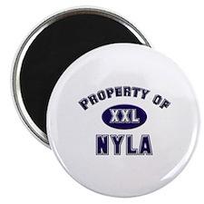 Property of nyla Magnet