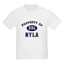 Property of nyla Kids T-Shirt