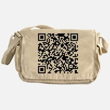 QR Code - Buy This Shirt Messenger Bag