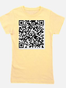 QR Code - Buy This Shirt Girl's Tee