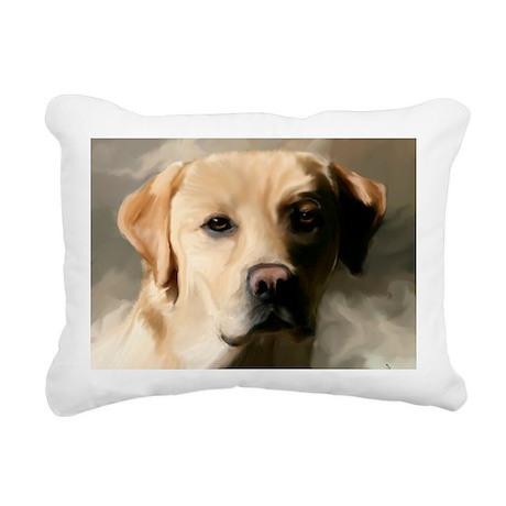 9x12YellowLab Rectangular Canvas Pillow