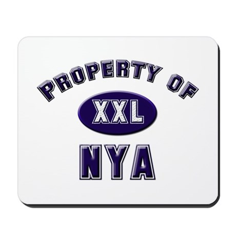 Property of nya Mousepad
