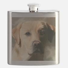 16x20YellowLab Flask
