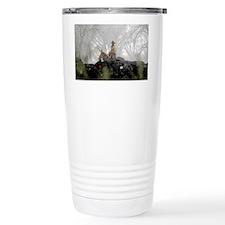 snowcowboy_sticker Travel Mug