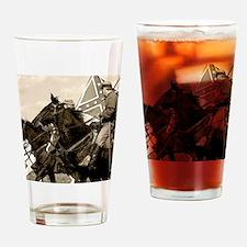 civilwar_panel Drinking Glass