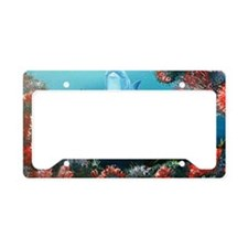 red dolphin copy License Plate Holder