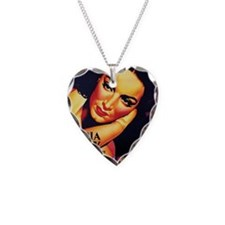 mex poster 1 Necklace Heart Charm
