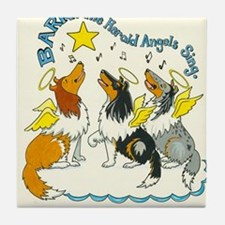Bark the Herald Tile Coaster