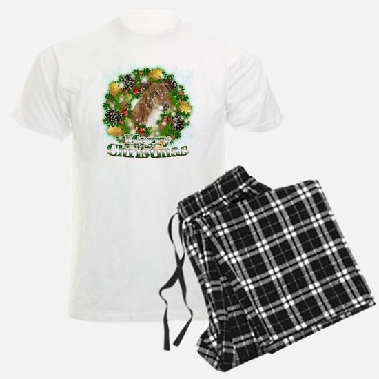 Merry Christmas Greyhound Pajamas