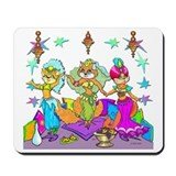 Bellydancing Classic Mousepad