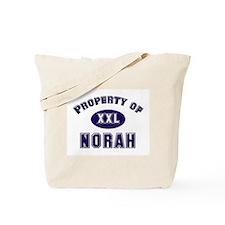 Property of norah Tote Bag