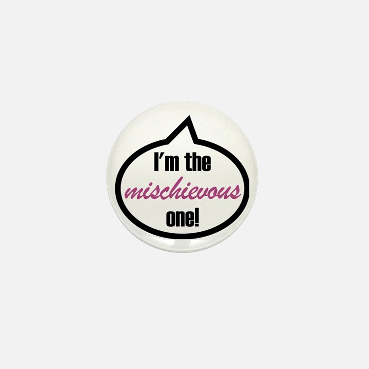 Im_the_mischievous Mini Button