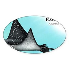 Spotted Eagle Ray Decal