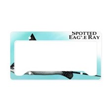 Spotted Eagle Ray License Plate Holder