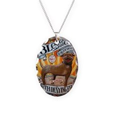 floyd feets poster 23x35 three Necklace Oval Charm