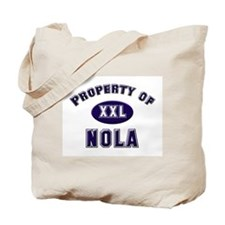 Property of nola Tote Bag