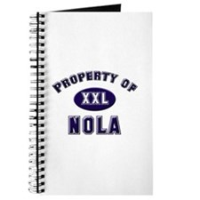 Property of nola Journal
