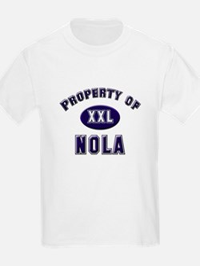 Property of nola Kids T-Shirt