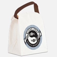 YinYangGuitarsBLUESfest4Lt Canvas Lunch Bag