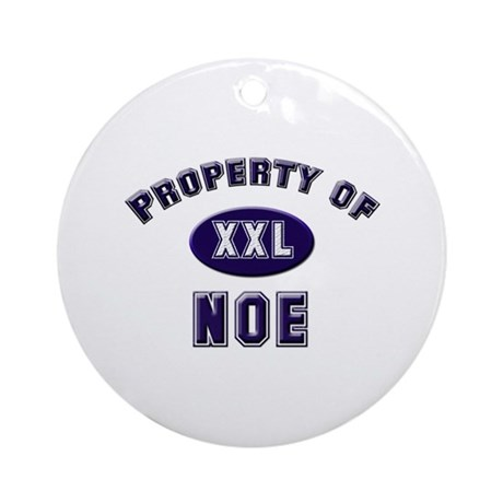 Property of noe Ornament (Round)