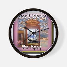 Fortune Teller shirts Wall Clock