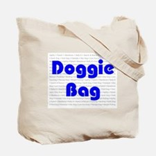 Funny Freestyle canine Tote Bag