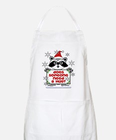 NEED A HUG RACCOON best Apron