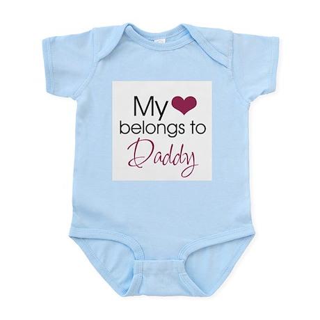 My Heart Belongs to Daddy - Infant Bodysuit