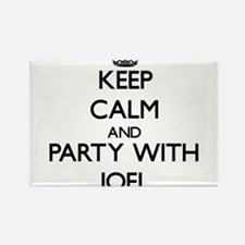 Keep Calm and Party with Joel Magnets