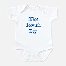 nice jewish boy Infant Bodysuit