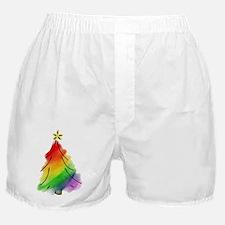 rainbow-xmas-tree_tr Boxer Shorts
