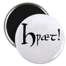 """Hwaet! 2.25"""" Magnet (10 pack)"""