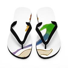 rainbow-wedding-dove_bl Flip Flops